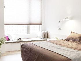 卧室飘窗装修效果图 17款宜家飘窗设计