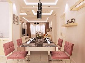 """餐桌""""上""""的唯美设计 24款餐厅吊顶欣赏"""