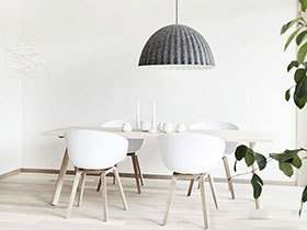 纯白色の雅居 19张白色欧式餐桌图片