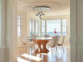 19张欧式圆形餐桌图片 高贵典雅