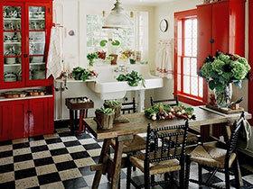 22款田园风餐桌图片 打造亮色餐厅