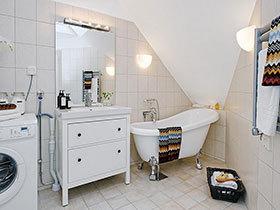 20张白色洗手台效果图 干净素雅