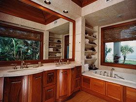 万能洗手台效果图 21张强收纳卫浴间设计