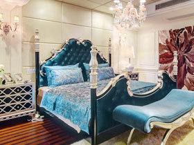 華麗歐式風情 16款歐式床頭軟包圖