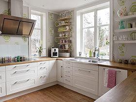 经典U型橱柜设计 17张宜家厨房图片