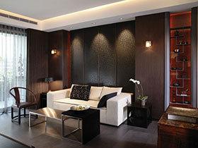 16张中式沙发背景墙图片 简洁不简单