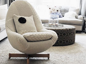 沙发穿上毛线衣 17款舒适沙发图片