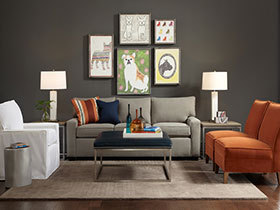 特色装饰画欣赏 22张沙发背景墙设计图