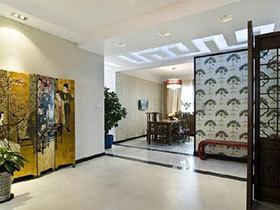 古典屏风设计 15张客厅隔断效果图