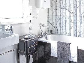 17款卫浴壁纸图片 个性卫生间必备