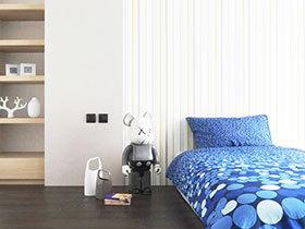 15款北欧壁纸 经典北欧卧室设计