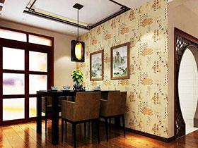 时尚壁纸装饰 12张餐厅背景墙效果图