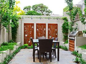 18张庭院装修效果图 家居休闲好场所