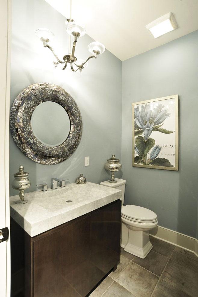 个型浴室柜效果图