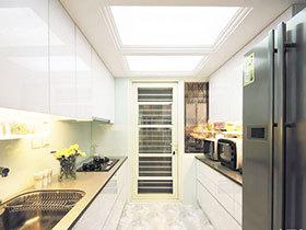 11张嵌入式厨房灯具图片 简单大气