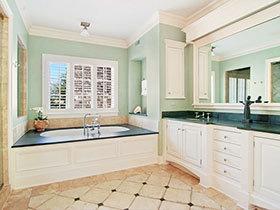 奢华卫生间必备 12张狭长型浴室柜设计图
