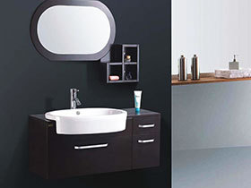 13张个性浴室柜效果图 时尚大气