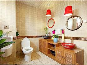 14张原木色浴室柜效果图 亲近自然之选