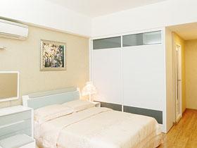 移门更省空间 16款卧室移门衣柜设计