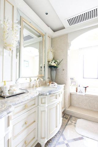 欧式浴室柜设计图
