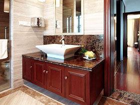 11张红色浴室柜效果图 经典不落伍