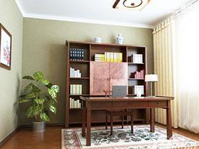 古典中式风 15张中式书柜设计效果图