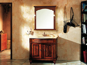 15张大理石台面浴室柜图片 干净简洁