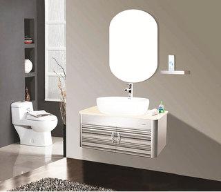 灰色浴室柜設計圖