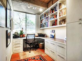 12张飘窗做书房装修效果图 个性十足