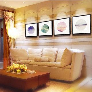 沙发背景墙效果图