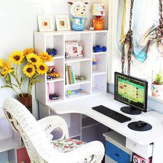 白色书桌设计图