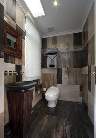 黑色洗手台设计图