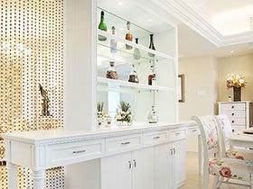 12张客厅简单酒柜隔断效果图 方便实用
