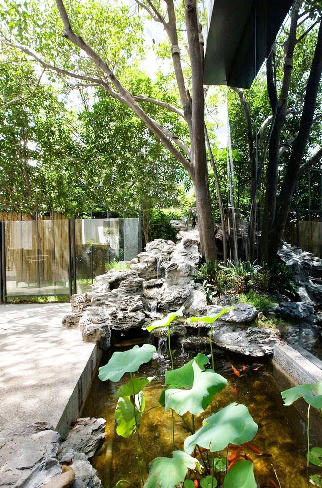 私家庭院景观图片
