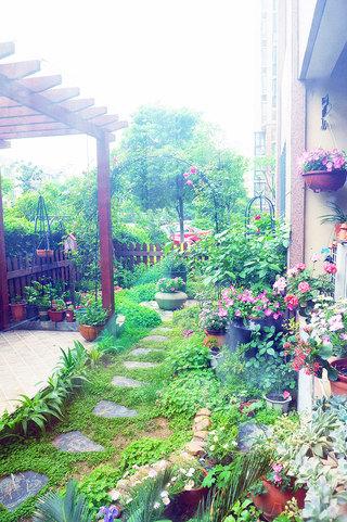 庭院下沉花园效果图