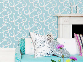 欧式花纹壁纸设计 11款温馨款式推荐