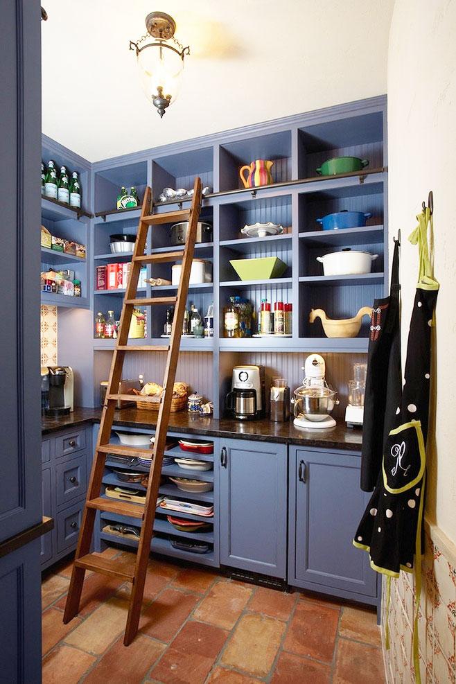 藍色櫥柜設計圖