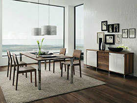 12款餐桌椅图片 看最美餐厅搭配