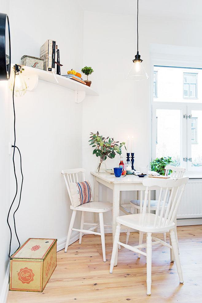 简欧风格餐桌椅图片