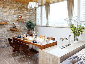 15张现代简约风格餐桌效果图 看极简的艺术