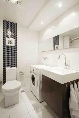现代简约浴室柜效果图