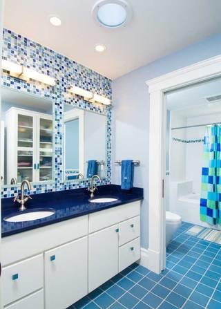 地中海浴室柜装修图片大全