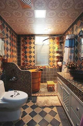 狭长型浴室柜设计图