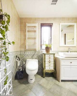 田园浴室柜设计图
