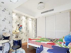 15张简约儿童房吊顶图片 时尚大气