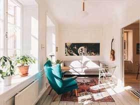 北欧宜家混搭风 艺术两居室放飞你的心灵