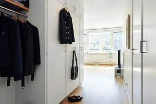 玄关定制衣柜设计效果图