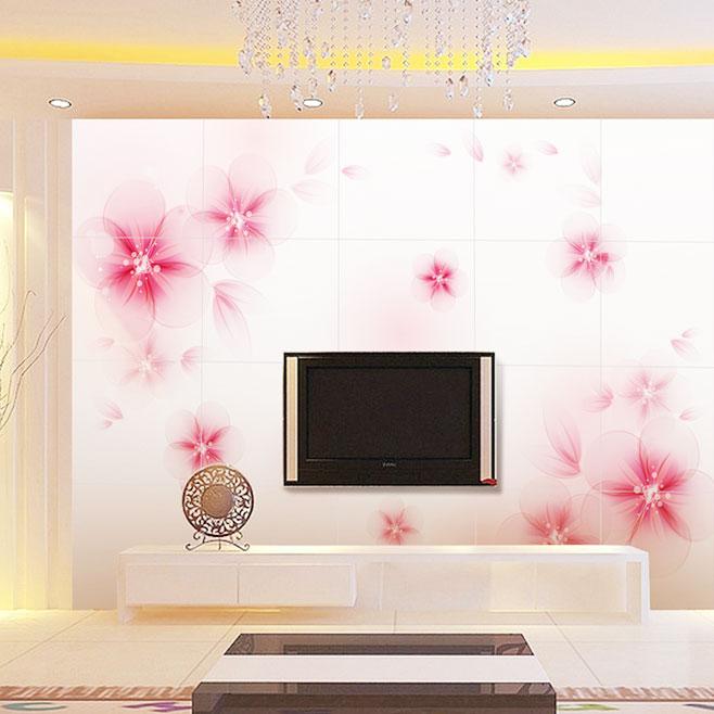家庭瓷砖背景墙效果图