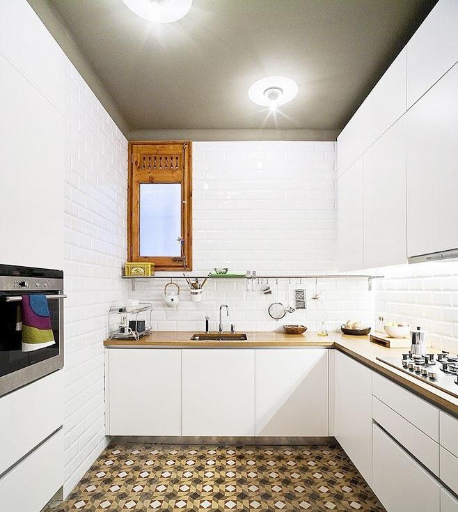厨房瓷砖效果图