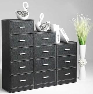 黑色收納柜設計圖